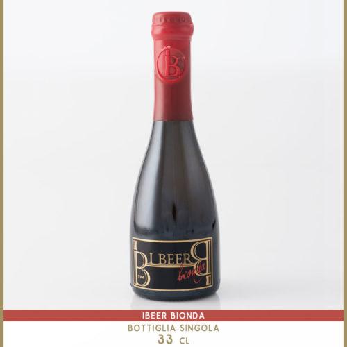 birra artigianale ibeer bionda-33cl