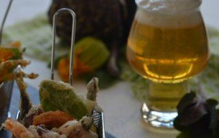 Tempura alla birra bionda IBEER